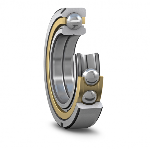 Angular contact ball bearing QJ 315 N2MA  (Four-point contact ball bearings)
