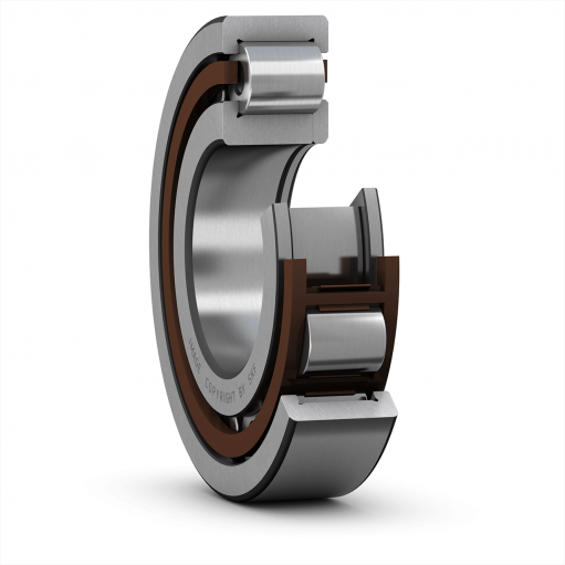 Cylindrical roller bearing NUP 205 ECP  (Single row)