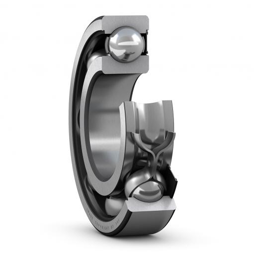 Deep groove ball bearing 6305-RS1/C3  (Single row)