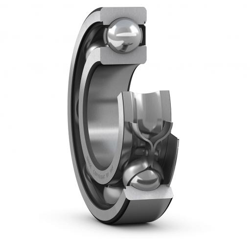 Deep groove ball bearing 6307-Z  (Single row)