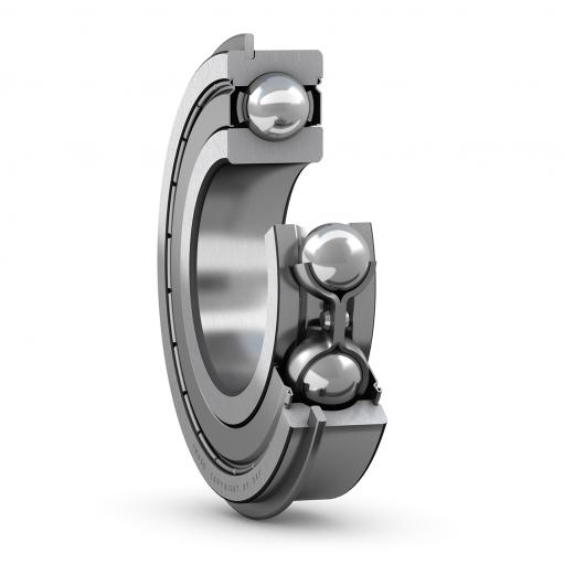 Deep groove ball bearing 6004-2ZNR  (Single row)