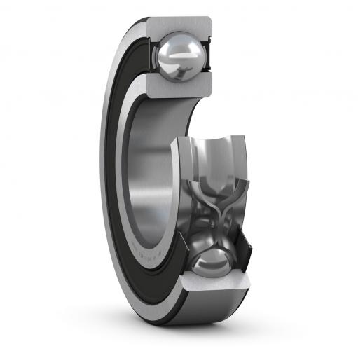 Deep groove ball bearing 61904-2RS1  (Single row)