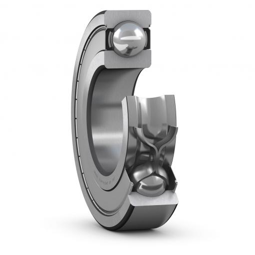 Deep groove ball bearing 6011-2Z  (Single row)