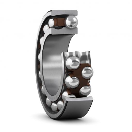 Self aligning ball bearing 1306 ETN9  (Double row)
