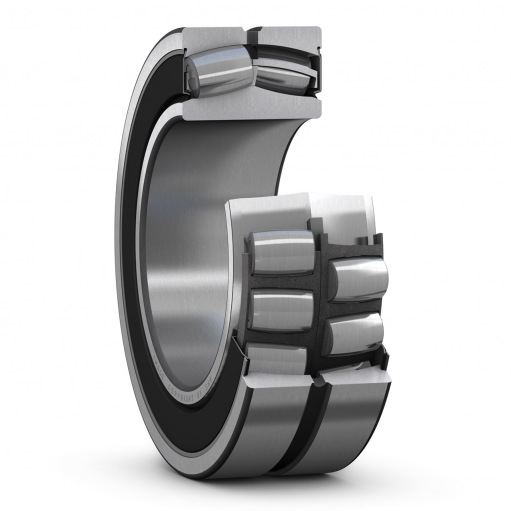 Spherical roller bearing BS2-2210-2RS/VT143  (Double row)