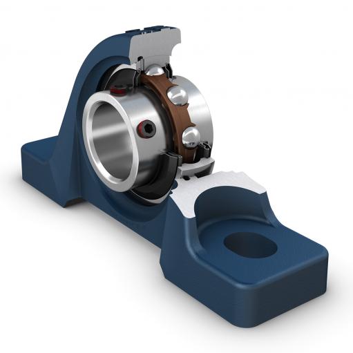 Ball bearing units Y/UCP 208  (Pillow Block Unit)